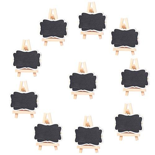 10pcs Hölzerne Tafel Tabellenzahlen Stehen Hochzeit Partei 70cm Begünstigt
