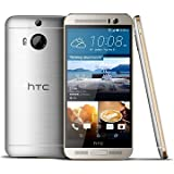 HTC 99HADR065-00 One M9+ Smartphone (13,2 cm (5,2 Zoll), 32GB, 20 Megapixel Kamera, Android) Gold/Silver