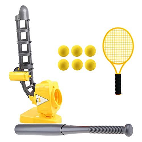 F Fityle Elektrische Ball Pitching Maschine Sportsspielzeug Outdoor Spielzeug für Kinder ab 5 Jahre Alt