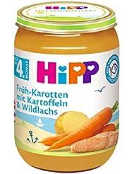 Hipp Früh-Karotten mit Kartoffeln und Wildlachs, 1er Pack (1 x 190g)