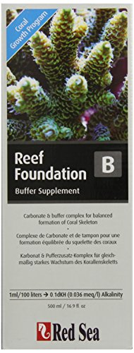 Red Sea Fish Pharm are22023 Reef Foundation Puffer Supplement-b für Aquarium, 500 ml -
