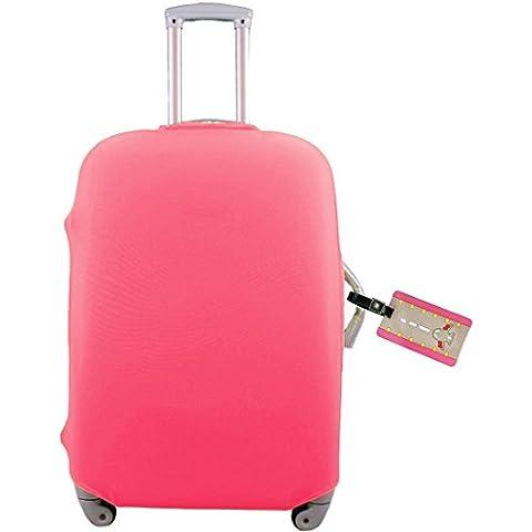 kilofly–Juego de viaje maleta de 18–30pulgadas) carcasa + etiqueta para equipaje