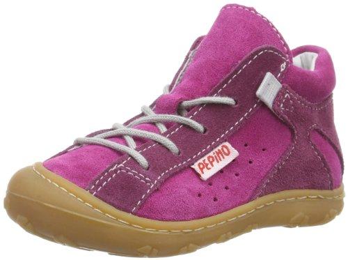 Ricosta ASKI 1226600 M Baby Mädchen Lauflernschuhe, Pink (pop/fuchsia 320), EU 22 (Schuhe Fuchsia Kinder Wildleder)