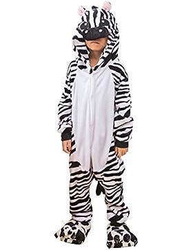 Pijama Ropa de Dormir Disfraz Infantil, Diseño de Animales Halloween Disfraz