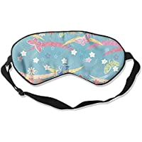 Eye Mask Eyeshade Butterflies Drawing Sleeping Mask Blindfold Eyepatch Adjustable Head Strap preisvergleich bei billige-tabletten.eu