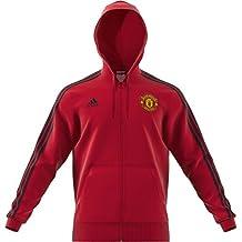 adidas Manchester United 3 Stripes Chaqueta - Sudaderas sin y con Capucha ( Chaqueta 8b7d3d3ee41a2