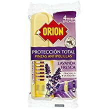 Orion 2 Pinces Anti-Mites Lavande Lot de 2