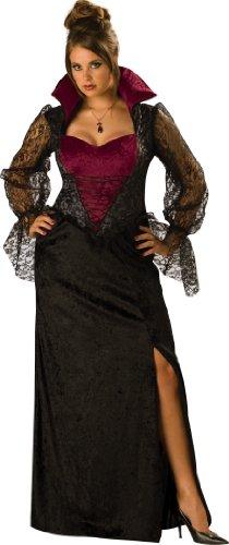 InCharacter Adult Midnight Vampiress Plus Size Costume