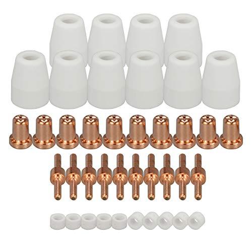 PT-31 LG-40 Plasma Keramikkappen Elektrode für cut-50 cut-40d Schneiden Verbrauchsmaterial 40 Stück