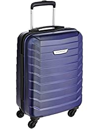 Aristocrat Juke Polycarbonate 37 cms Blue Hard Sided Carry-On (JUKE55TMIB)