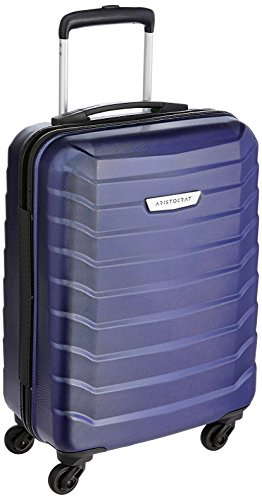 Aristocrat Juke Polycarbonate 55.5 cms Blue Hard Sided Carry-On (JUKE55TMIB)