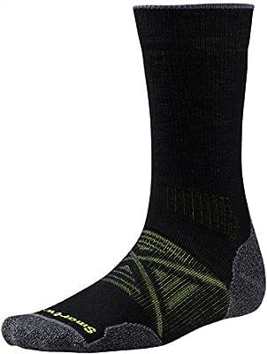 Smartwool Herren Phd Outdoor Crew Socken, Schwarz, Medium von SMAWI|#Smartwool bei Outdoor Shop