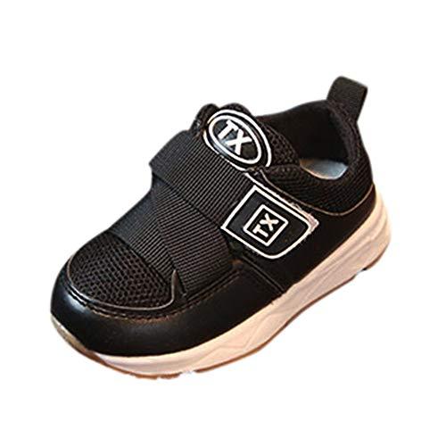 Makalon Jungen Mädchen Weich Mesh Freizeit Anti Rutsch Sohle Wanderschuhe Baby Säugling Leichtes Atmungsaktiv Strap Athletic Laufschuhe Kleinkind im Freien Nette beiläufige Sneakers (2 Nike-turnschuhe Mädchen Größe)