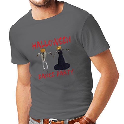 Männer T-Shirt Coole Outfits Halloween Tanz Party Veranstaltungen Kostümideen (Medium Graphit Mehrfarben) (Kreative Halloween Kostüme 2017 Für Jungen)