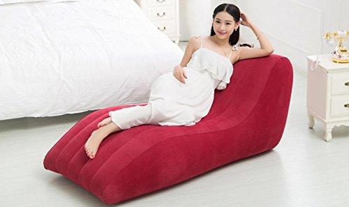ASZLL Faule Menschen kreative Freizeitspaß Stühle plus s-Siesta Sofastühle, aufblasbare Sofa, aufblasbares Sofa Bett