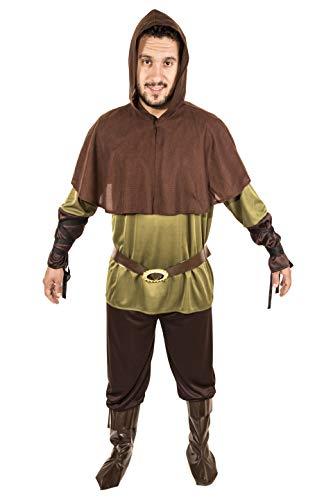 Costumizate! Robin Hood Kostüm für Erwachsene, speziell für Kostümpartys und Karneval, Einheitsgröße