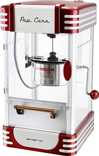 emerio POM-120650 Machine à Popcorn antiadhésive Compatible avec Les Popcorn sucrés ou salés 360 W