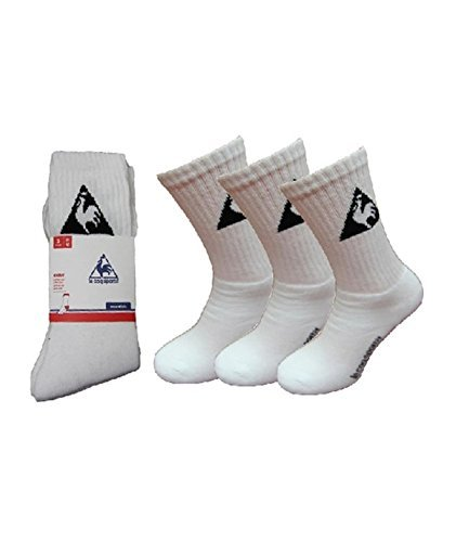 le Coq Sportif Pack of 3 Pairs Socks 43/46