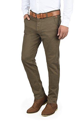 BLEND Kainz Herren Chino-Hose Stoffhose aus hochwertiger Baumwoll-Mischung, Größe:W32/34, Farbe:Mocca Brown (71508) (Hosen Baumwollmischung)
