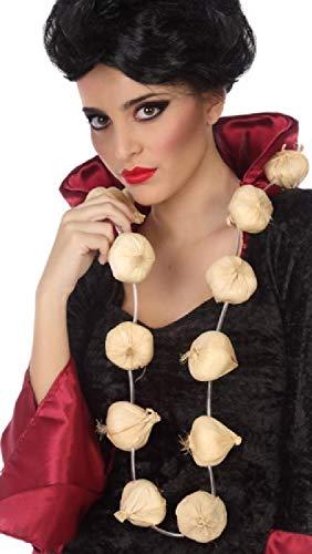 Zubehör Kostüm Mime - Erwachsene Damen Herren Knoblauchkette Vampir Halloween Französisch Mime Karneval Kostüm Outfit Zubehör
