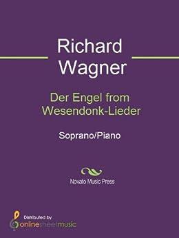 Der Engel from Wesendonk-Lieder - Score par [Richard Wagner]