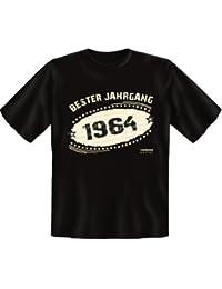 T-Shirt - Bester Jahrgang 1964 - lustiges Sprüche Shirt ideal als Geschenk zum 53. Geburtstag