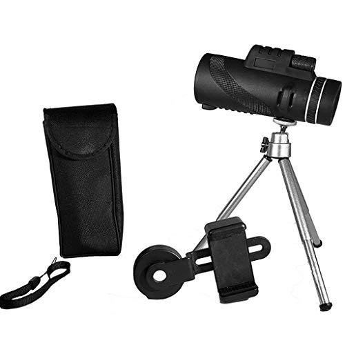 JXJJD Teleskop Pocket HD Tragbare Monokulare Gläser Low Light Level Nachtsicht Wasserdicht Nicht-Infrarot 8 Mal Einrohr Close Range Viewer 4X12 4 mal