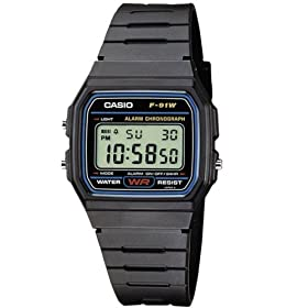 Casio Collection Unisex Adults Watch F-91W-1XY