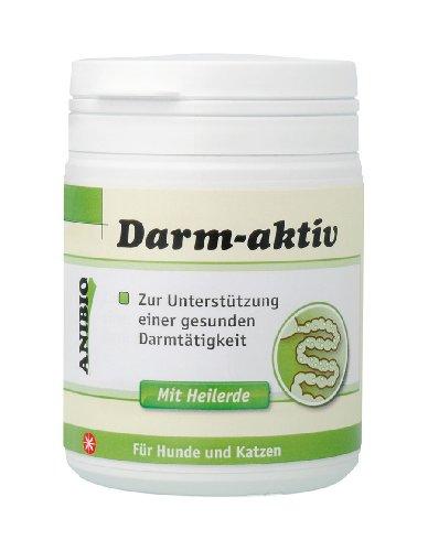 Anibio Darm-aktiv Ergaenzungsfutter fuer Hunde und Katzen, 1er Pack (1 x 120g)