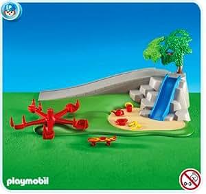 playmobil 6223 terrain de jeu dans un emballage plastique pas de boite jeux et. Black Bedroom Furniture Sets. Home Design Ideas