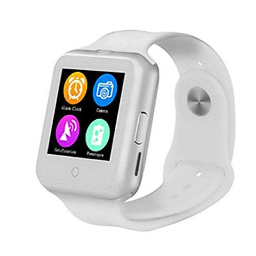 PDFGO D3 Smart Watch Bluetooth Cardia Con Frequenza Cardiaca MTK6261 Termometro Sistema Operativo Supportato: Android IOS,White