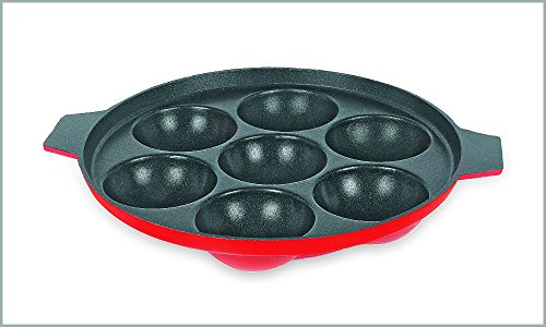 Bala Non Stick Appam Maker (with 7 cavities) (2.6mm thick)  available at amazon for Rs.280