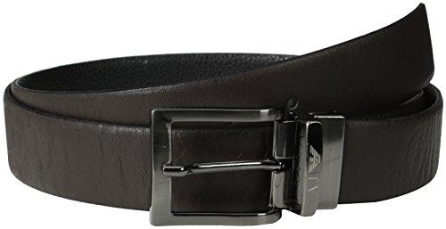 Armani Jeans 06195R4, Cintura Uomo, Braun (Marrone-Brown), Taglia Unica