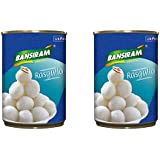 Bansiram Rasgulla (Pack of 2-500g Each) - 1Kg