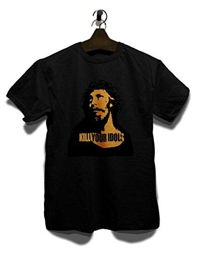 shirtminister Kill Your Idols T-Shirt schwarz L