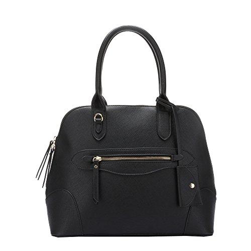hb-style-madchen-damen-tasche-schwarz-schwarz-grosse-medium