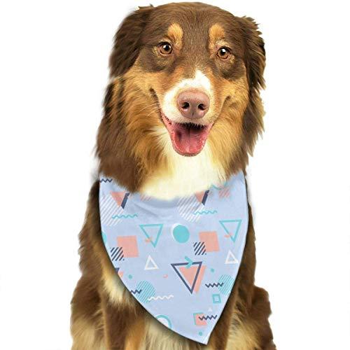 Pet Scarf Dog Bandana Bibs Triangle Head Scarfs ()