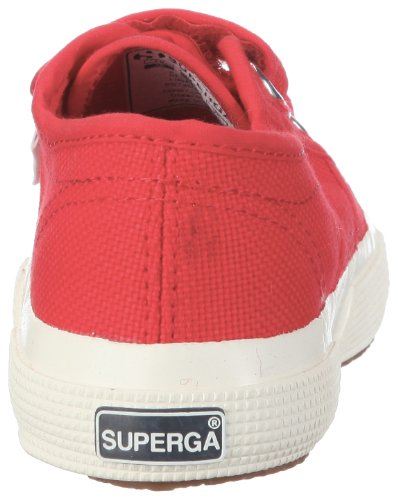 Superga 2750 Jvel Classic, Sneakers Basses mixte enfant Rouge (975)