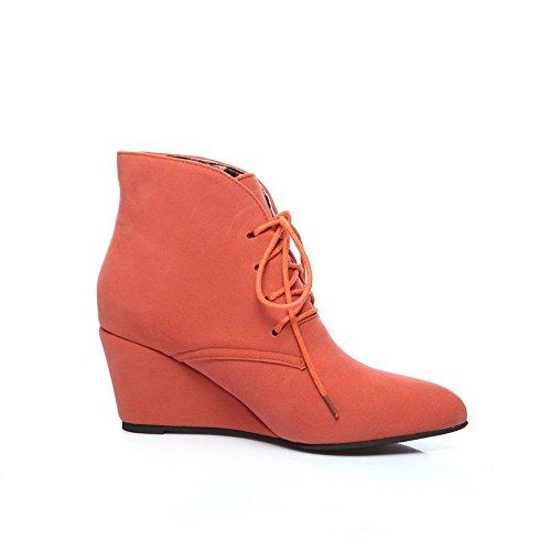 Sandales Orange Abl10269 femme BalaMasa Compensées Zq56Tw