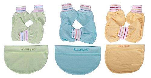 born baby cap booties mittens set (4024_3-12 months)