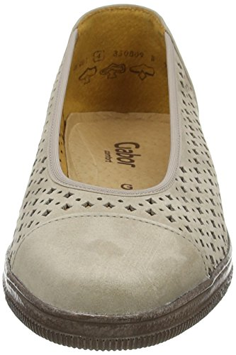 Gabor Heart, Mocassins (loafers) Femme Beige (Taupe Nubuck Lavato)