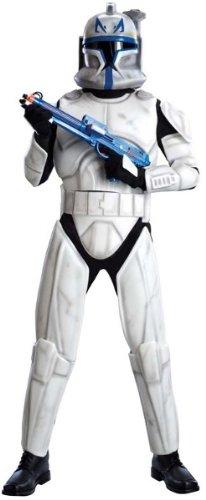 Clonetrooper Captain Rex Deluxe Kostüm für Herren, Größe:XL