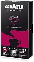 Lavazza Espresso Deciso - Confezione da 100 Capsule Compatibili Nespresso