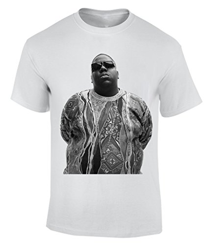 The Notorious BIG Black And White - XX-Large T-Shirt Homme