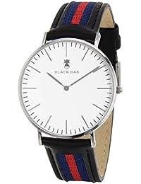 BLACK OAK Reloj con movimiento cuarzo japonés Man BX58904-141 40 mm
