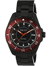 Nautec No Limit Herren-Armbanduhr Barracuda BC AT/IPIPRDBK