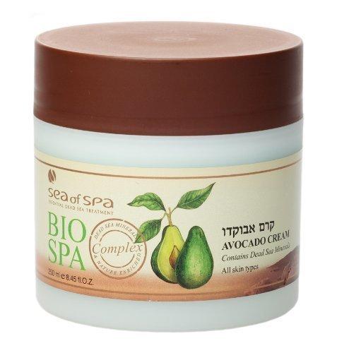 Bio Spa - Crème Naturelle Avocat 250ml - PRODUIT DE LUXE MER MORTE