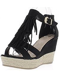 suchergebnis auf f r schuhe breite f e rei verschluss sandalen damen schuhe. Black Bedroom Furniture Sets. Home Design Ideas
