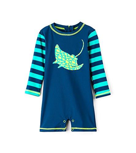 Hatley Baby Boys Mini Rashguard One-Piece Swimsuit