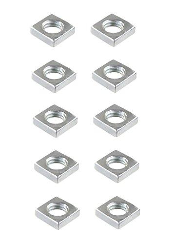 Vierkantmutter Mutter M6 Stahl verzinkt DIN 557 10 Stück (0134)